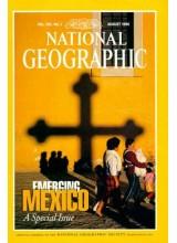Списание National Geographic 1996-08