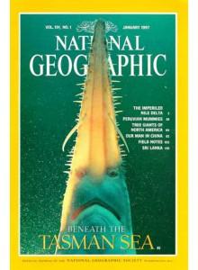 National Geographic Magazine 1997-01