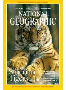Списание National Geographic 1997-02