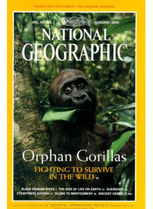 Списание National Geographic 2000-02