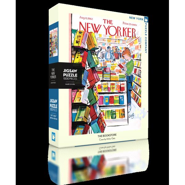 NY Puzzle Co. - Пъзел 11-08-1962 The Bookstore 1000 парчета 1