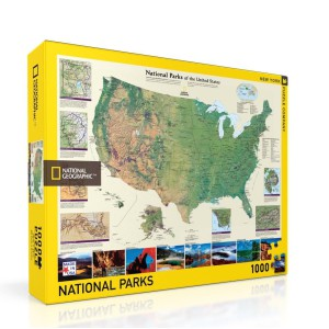 Puzzle National Geographic American National Parks 1000 Pieces