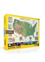 Пъзел National Geographic Американски Национален Парк 1000 Парчета