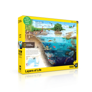 Puzzle National Geographic Layers of Life 1000 Pieces