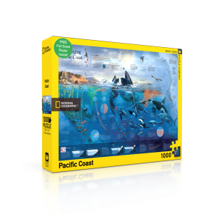 Puzzle National Geographic Pacific Coast 1000 Pieces