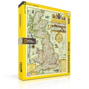 Puzzle National Geographic Shakespeare's Britain 1000 Pieces