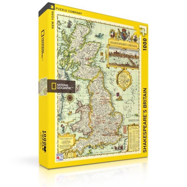 Пъзел National Geographic Великобритания Според Шекспир 1000 Парчета 1