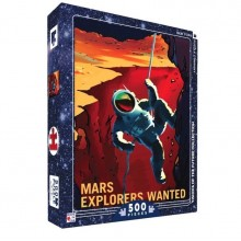 Пъзел Explorers Wanted Mars 500 Парчета