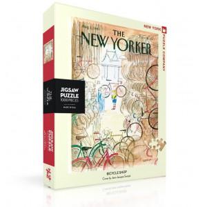 Пъзел The New Yorker 01-08-1983 Bicycle Shop 1000 Парчета