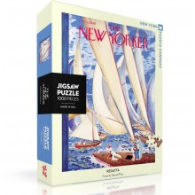 Пъзел The New Yorker 09-07-1949 Regatta Yachts 1000 Парчета