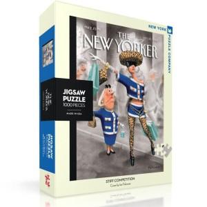 Пъзел The New Yorker 10-11-2012 Stiff Competition 1000 Парчета