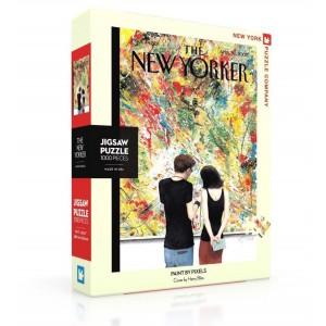 Пъзел The New Yorker 2007-04-30 Paint By Pixels 1000 Парчета