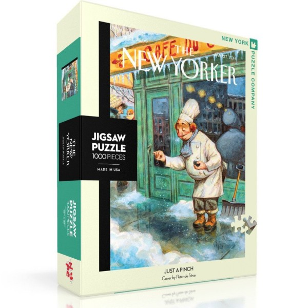 NY Puzzle Co. - Пъзел The New Yorker 27-01-2014 Just a Pinch 1000 Парчета 1