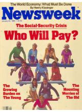 Списание Newsweek 1983-01-24