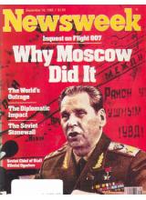Списание Newsweek 1983-09-19