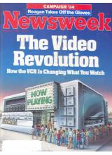 Списание Newsweek 1984-08-06
