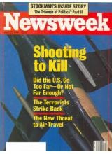 Списание Newsweek 1986-04-28