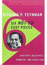 Richard P Feynman | Six not so easy pieces