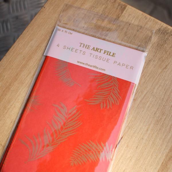 The Art File - 4 Листа Тишу The Art File Tropic  1