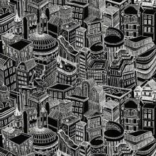 Опаковъчна Хартия City Buildings