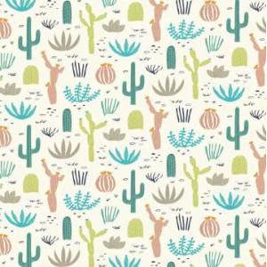 Опаковъчна хартия Desert in Bloom