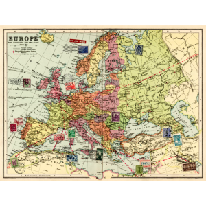 Wrapping paper EUROPE