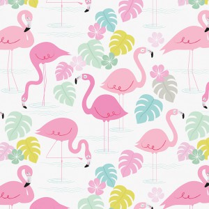 Wrapping paper Flamingo