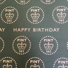 Опаковъчна хартия Happy Birthday