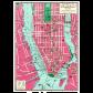 Опаковъчна хартия NEW YORK CITY 2