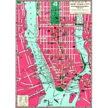 Опаковъчна хартия NEW YORK CITY