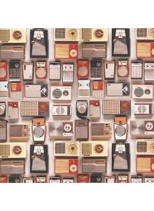Опаковъчна Хартия Retro Radio