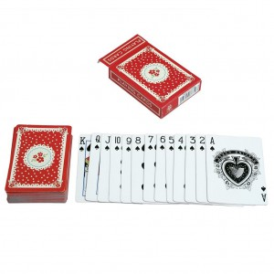 Playing Cards DOILY RED