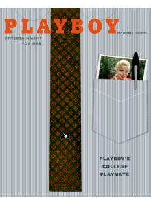 Списание Playboy 1958-09