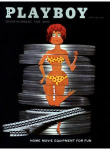 Списание Playboy 1960-04
