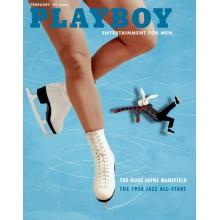 Списание Playboy 1958-02