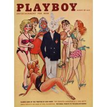 Списание Playboy 1961-08