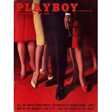 Списание Playboy 1961-10