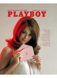 Списание Playboy 1968-02