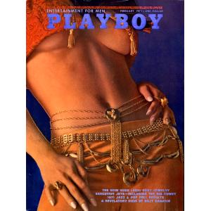 Списание Playboy 1971-02