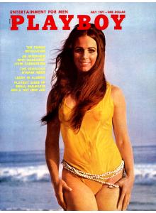 Списание Playboy 1971-07