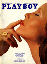 Списание Playboy 1972-02