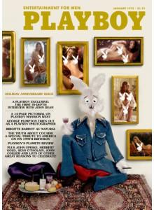 Списание Playboy 1975-01