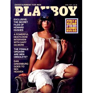 Списание Playboy 1977-04