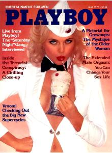 Списание Playboy 1977-05