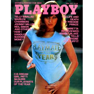 Списание Playboy 1977-06