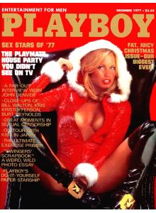 Списание Playboy 1977-12