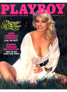 Списание Playboy 1980-06
