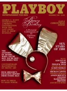 Списание Playboy 1980-12