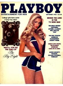 Списание Playboy 1982-09