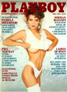 Списание Playboy 1983-04